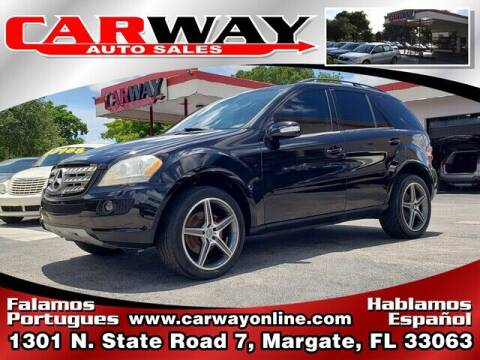 2006 Mercedes-Benz M-Class for sale at CARWAY Auto Sales in Margate FL