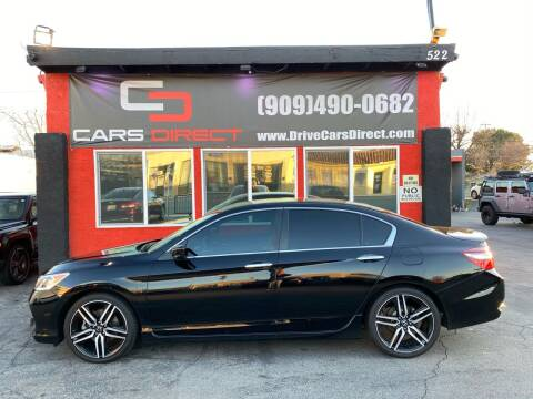 2017 Honda Accord for sale at Cars Direct in Ontario CA