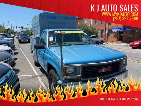 1999 GMC Sierra 2500 for sale at K J AUTO SALES in Philadelphia PA