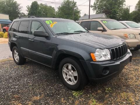 2007 Jeep Grand Cherokee for sale at Moose Motors in Morganton NC