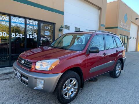 2002 Toyota RAV4 for sale at REDA AUTO PORT INC in Villa Park IL