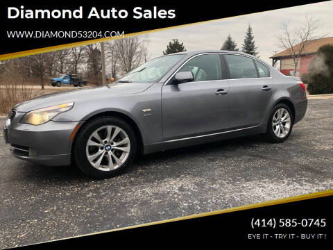 2009 BMW 5 Series for sale at Diamond Auto Sales in Milwaukee WI