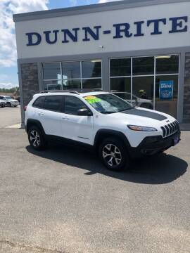 2014 Jeep Cherokee for sale at Dunn-Rite Auto Group in Kilmarnock VA