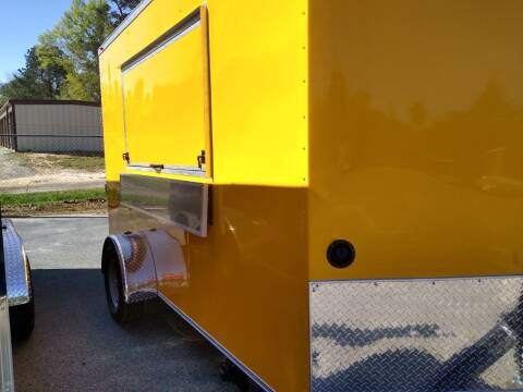 2021 D and A Custom Trailers 6 x 12SA Concession Trailer for sale at Grizzly Trailers - Trailers For Order in Fitzgerald GA