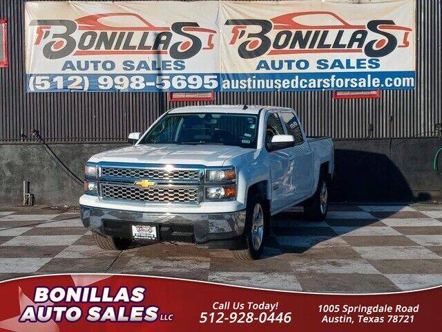 2014 Chevrolet Silverado 1500 for sale at Bonillas Auto Sales in Austin TX