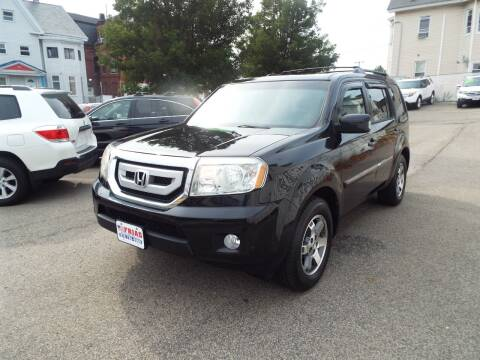 2011 Honda Pilot for sale at FRIAS AUTO SALES LLC in Lawrence MA