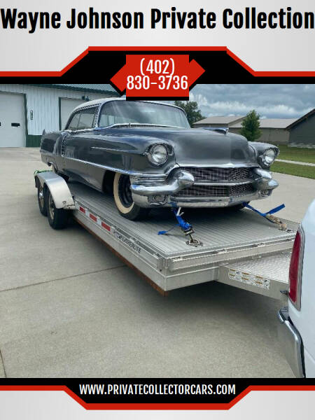 1956 Cadillac DeVille for sale at Wayne Johnson Private Collection in Shenandoah IA