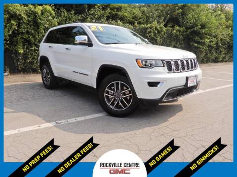 2021 Jeep Grand Cherokee for sale at Rockville Centre GMC in Rockville Centre NY