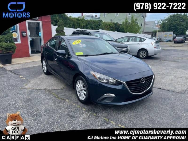 2014 Mazda MAZDA3 for sale at CJ Motors Inc. in Beverly MA