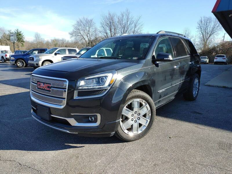 2014 GMC Acadia for sale at Cruisin' Auto Sales in Madison IN