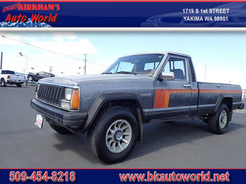1986 Jeep Comanche for sale at Bruce Kirkham Auto World in Yakima WA