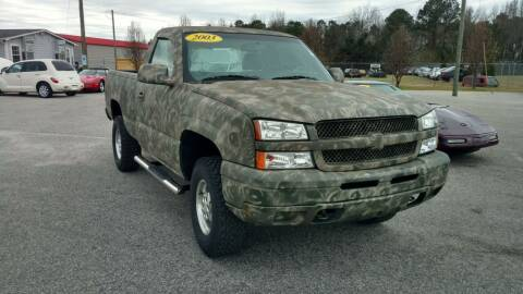 2003 Chevrolet Silverado 1500 for sale at Kelly & Kelly Supermarket of Cars in Fayetteville NC