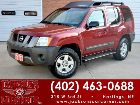 2005 Nissan Xterra for sale at Jacksons Car Corner Inc in Hastings NE