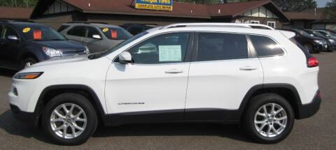 2016 Jeep Cherokee for sale at AUTOHAUS in Tomahawk WI