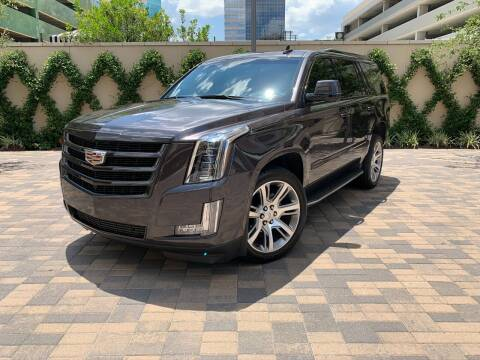 2016 Cadillac Escalade for sale at ROGERS MOTORCARS in Houston TX