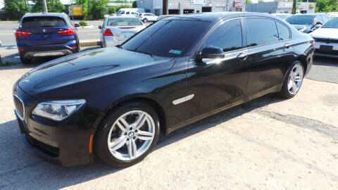 2013 BMW 7 Series for sale at Unlimited Auto Sales in Upper Marlboro MD