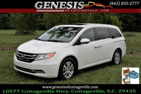 2014 Honda Odyssey for sale at Genesis Of Cottageville in Cottageville SC