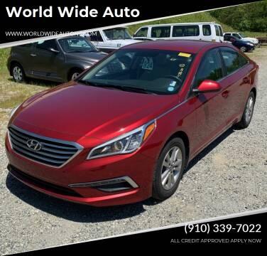 2015 Hyundai Sonata for sale at World Wide Auto in Fayetteville NC