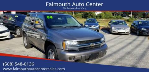 2008 Chevrolet TrailBlazer for sale at Falmouth Auto Center in East Falmouth MA