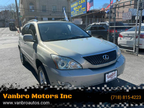 2004 Lexus RX 330 for sale at Vanbro Motors Inc in Staten Island NY