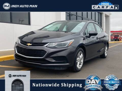 2016 Chevrolet Cruze for sale at INDY AUTO MAN in Indianapolis IN