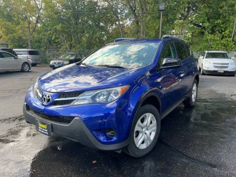 2015 Toyota RAV4 for sale at Chinos Auto Sales in Crystal MN