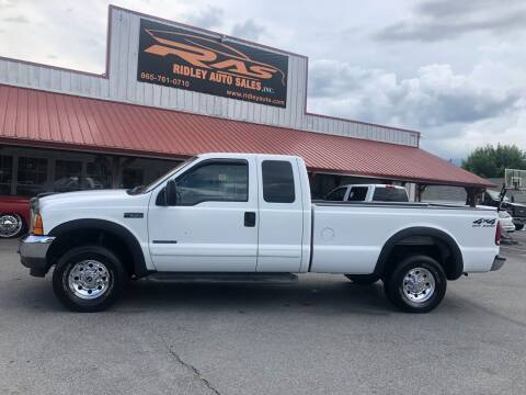 2001 Ford F-250 Super Duty for sale at Ridley Auto Sales, Inc. in White Pine TN