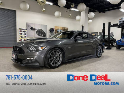 2016 Ford Mustang for sale at DONE DEAL MOTORS in Canton MA