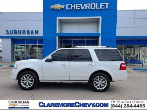 2016 Ford Expedition for sale at Suburban Chevrolet in Claremore OK