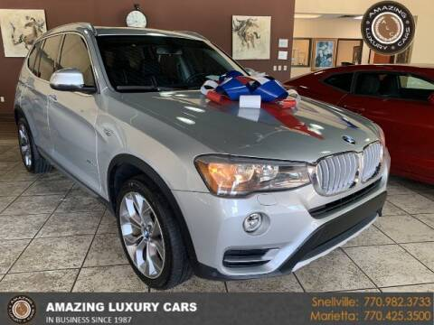 2017 BMW X3 for sale at Amazing Luxury Cars in Snellville GA