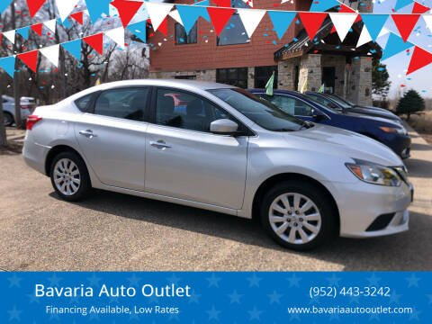2018 Nissan Sentra for sale at Bavaria Auto Outlet in Victoria MN