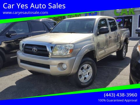 2008 Toyota Tacoma for sale at Car Yes Auto Sales in Baltimore MD