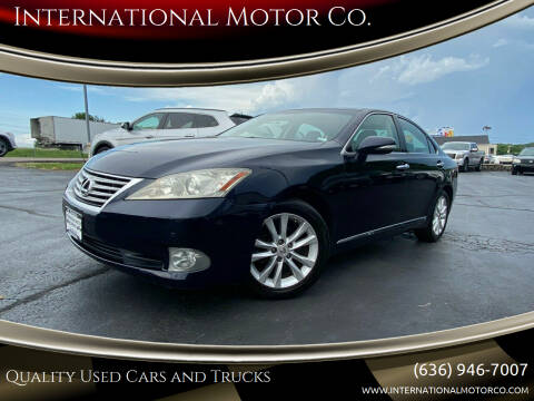 2010 Lexus ES 350 for sale at International Motor Co. in St. Charles MO