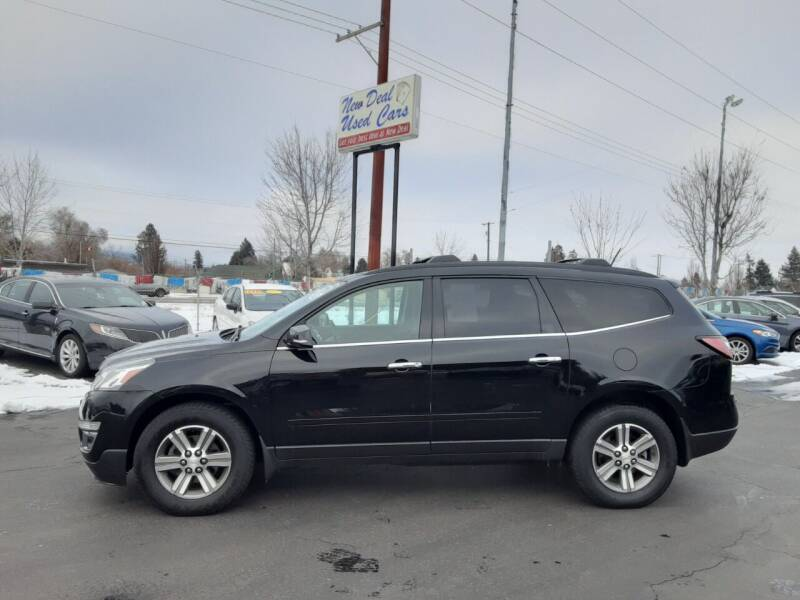 2016 Chevrolet Traverse for sale at New Deal Used Cars in Spokane Valley WA