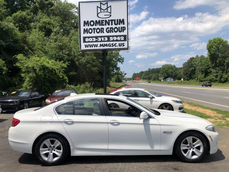 2011 BMW 5 Series for sale at Momentum Motor Group in Lancaster SC