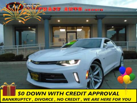 2016 Chevrolet Camaro for sale at Chase Auto Credit in Oklahoma City OK