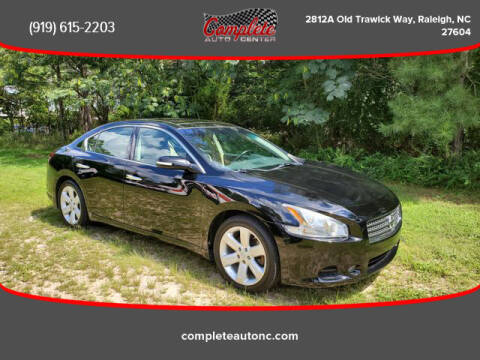 2011 Nissan Maxima for sale at Complete Auto Center , Inc in Raleigh NC