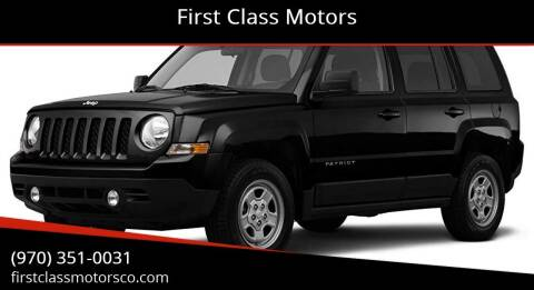 2012 Jeep Patriot for sale at First Class Motors in Greeley CO