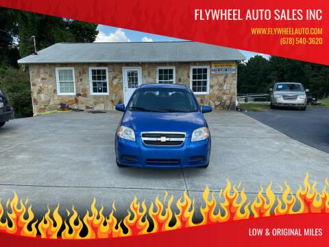 2010 Chevrolet Aveo for sale at Flywheel Auto Sales Inc in Woodstock GA