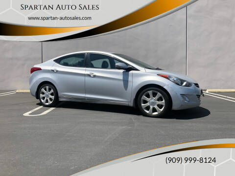 2013 Hyundai Elantra for sale at Spartan Auto Sales in Upland CA
