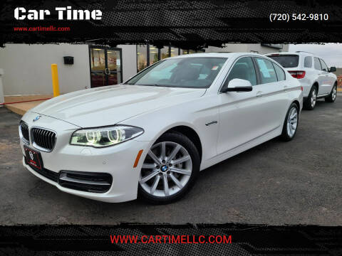 2014 BMW 5 Series for sale at Car Time in Denver CO