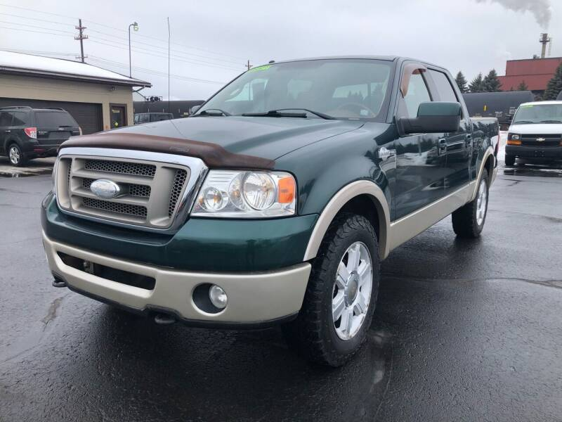 2008 Ford F-150 for sale at Mike's Budget Auto Sales in Cadillac MI