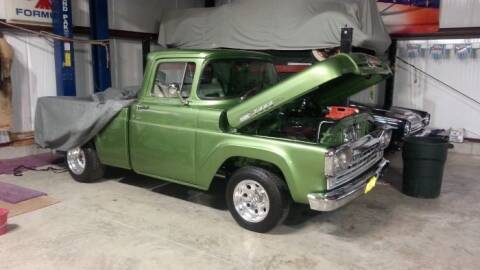 1960 Ford F-100 for sale at Classic Car Deals in Cadillac MI