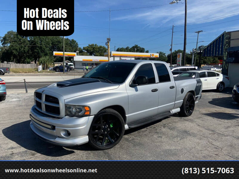 2005 Dodge Ram Pickup 1500 for sale at Hot Deals On Wheels in Tampa FL