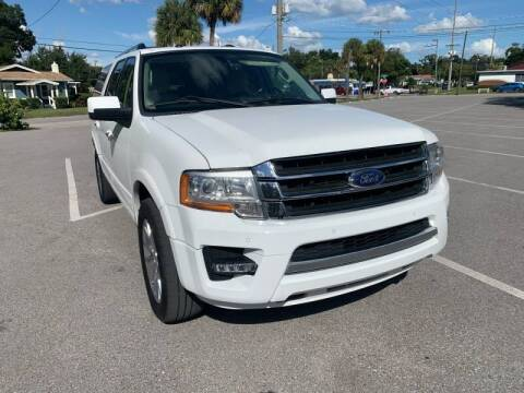 2017 Ford Expedition EL for sale at LUXURY AUTO MALL in Tampa FL
