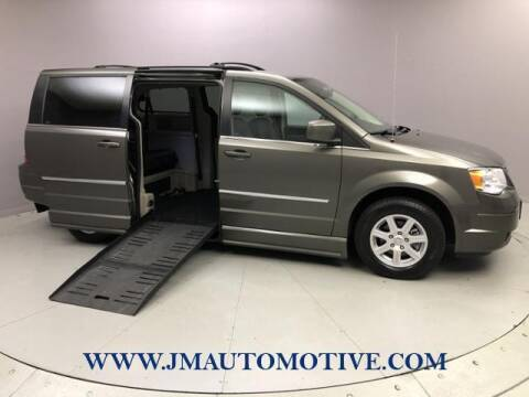 2010 Chrysler Town and Country for sale at J & M Automotive in Naugatuck CT