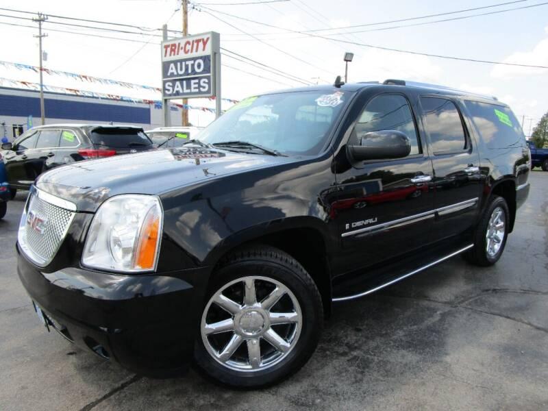 2008 GMC Yukon XL for sale at TRI CITY AUTO SALES LLC in Menasha WI