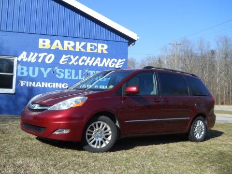 2007 Toyota Sienna for sale at BARKER AUTO EXCHANGE in Spencer IN