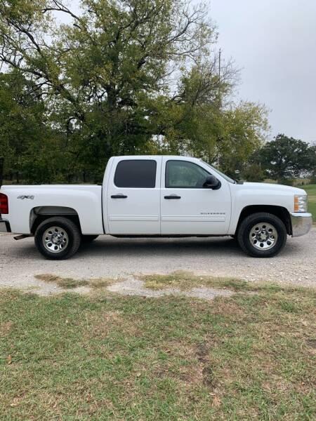 2012 Chevrolet Silverado 1500 for sale at BARROW MOTORS in Caddo Mills TX