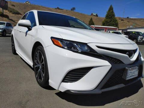 2018 Toyota Camry for sale at Guy Strohmeiers Auto Center in Lakeport CA